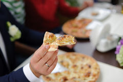 Slice of Pizza Royalty Free Stock Image