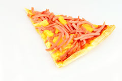 Slice of pizza Royalty Free Stock Photo
