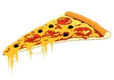 Slice of pizza Stock Image