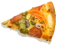 Slice of pizza Royalty Free Stock Photography