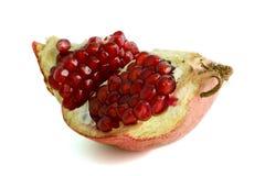Slice of pomegranate Stock Photo