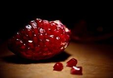 Slice of pomegranate Royalty Free Stock Photos