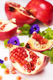Slice of pomegranate Royalty Free Stock Photos