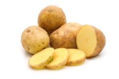 Slice potato Stock Photos