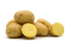 Slice potato Royalty Free Stock Photos