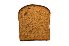 Slice of a potato rye bread, viewed from above Royalty Free Stock Image