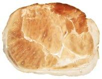 Slice of prosciuto parma ham Stock Photo