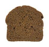 Slice of pumpernickel bread Royalty Free Stock Images