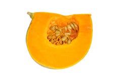 Slice Of Pumpkin Stock Image