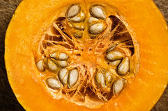 Slice of pumpkin. Royalty Free Stock Images