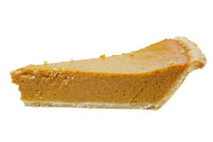 Slice of Pumpkin Pie Royalty Free Stock Image