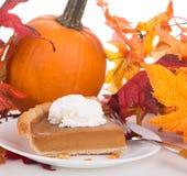 Slice of Pumpkin Pie Royalty Free Stock Photo
