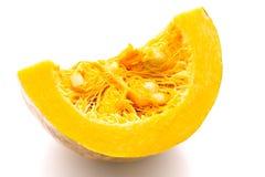 Slice of pumpkin Stock Photography