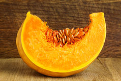 Slice of pumpkin Royalty Free Stock Image