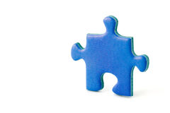 Slice of puzzle Stock Photos