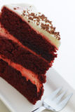 Slice of raspberry cake Royalty Free Stock Photography