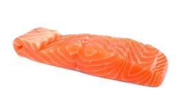 Slice of raw salmon Royalty Free Stock Photo
