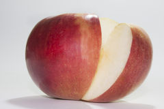 Slice of red apple Royalty Free Stock Photo