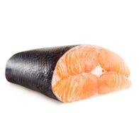 Slice of red fish salmon Stock Image