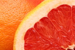 Grapefruit cut Royalty Free Stock Photos