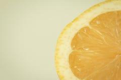 Slice of a refreshing orange Royalty Free Stock Images