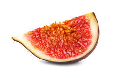 A slice of ripe figs  Stock Image