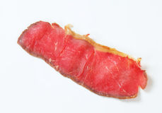 Slice of roast beef Royalty Free Stock Photography