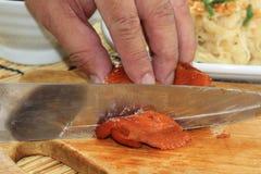 Slice Roast chicken Royalty Free Stock Photos