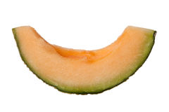 Slice of rockmelon Royalty Free Stock Photography