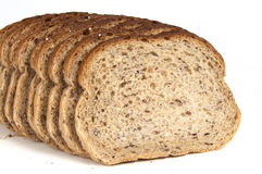 Slice Rye Bread Stock Photography