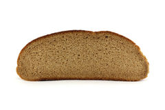 Slice of rye bread Stock Images