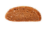 Slice rye bread Stock Photo