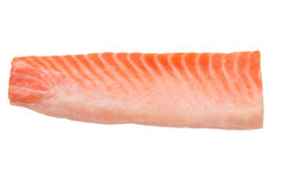 Slice of a salmon fillet Stock Image