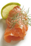 Slice of salmon fish Stock Photo