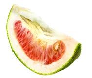 Slice Shaddock. Over white background Stock Images