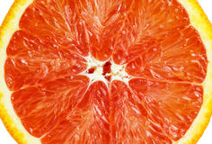 Slice of sicilian orange Stock Photo