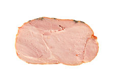 Slice of smoked meat Royalty Free Stock Images