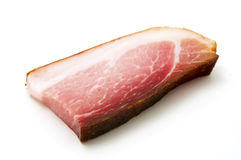 Slice of speck Stock Image