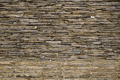 Slice of Stone Paved Wall Royalty Free Stock Images