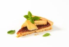 Slice of strawberry cake Royalty Free Stock Image