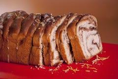 Slice sweet bread Stock Photo