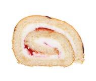 Slice of Swiss roll Stock Image