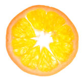 A slice of tangerine Stock Photos