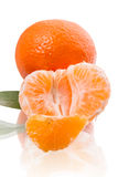Slice of tangerine Royalty Free Stock Photo