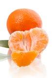 Slice of tangerine Royalty Free Stock Photo