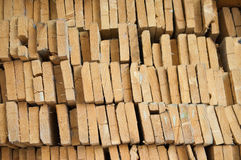 Slice of timber Stock Photography