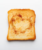 Slice of toast Stock Photography