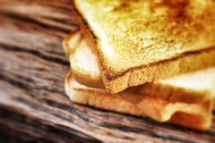 Slice toast bread Stock Photo