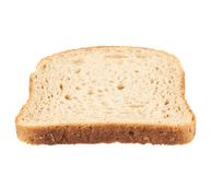 Slice of the toast bread Royalty Free Stock Images