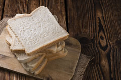 Slice of toast bread Stock Photography